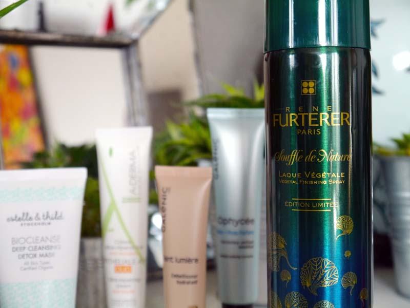Laque végétale René Furterer - Mes beauty heroes du mois de novembre - Charonbelli's blog beauté