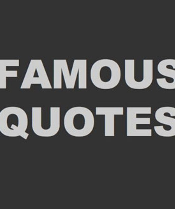 Famous Saying 3