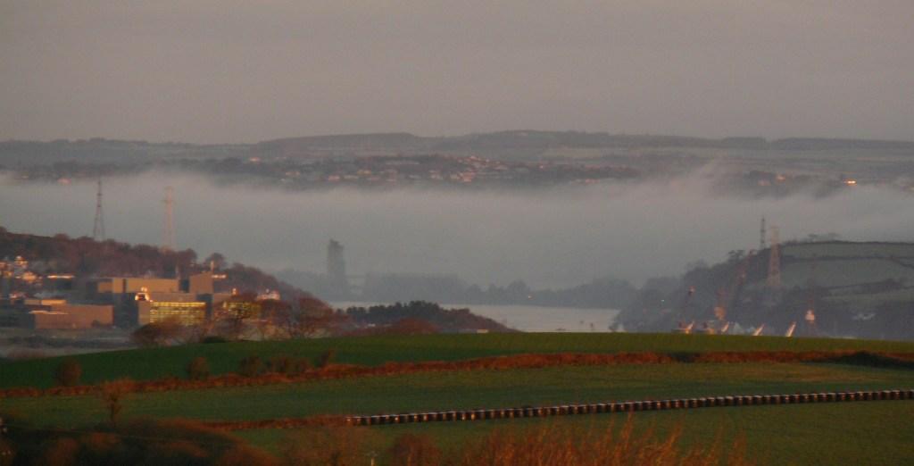 Fog near Cobh