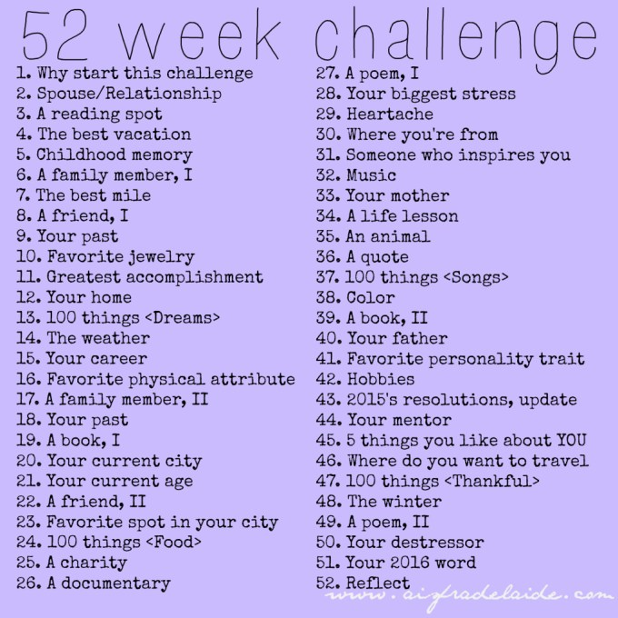 52-week-challenge-aisforadelaide