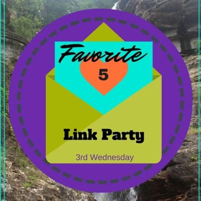 Favorite 5 Link Party – October!