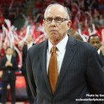 Miami basketball coach Jim Larrañaga