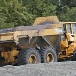 coal ash truck