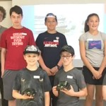 Area students were introduced to electronic and engineering in a Robotics workshop held on the Chatham County Campus of Central Carolina Community College on Saturday, May 14, as part of the High Tech – High Touch Weekend Workshops.