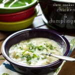 Chicken and Dumplings in the Slow Cooker