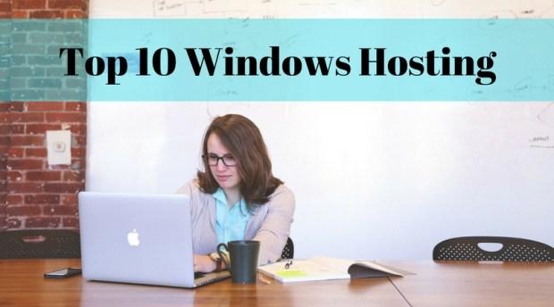 Top 10 Windows Hosting