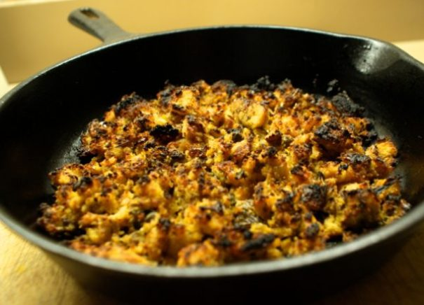 how to make cornbread dressing