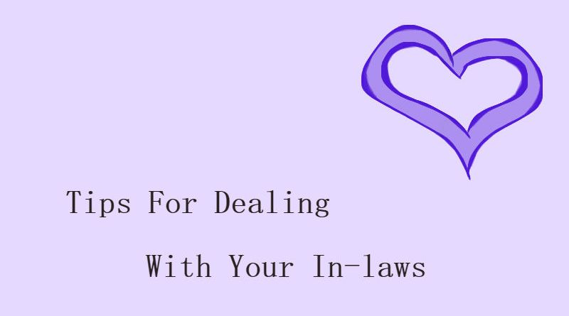 Tips For Dealing With Your In-laws