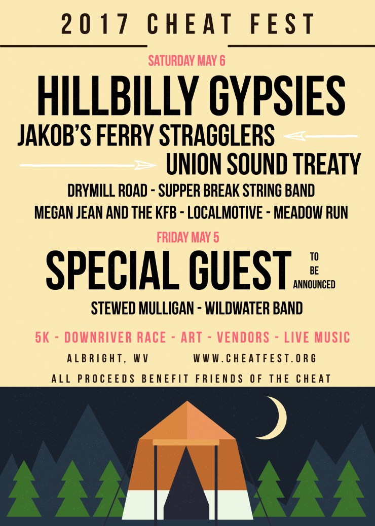 CheatFestMusicAnnouncement2017_2_Indie Summer Camp Flyer