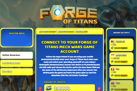 forge of ans mech wars hack cheat online generator credits