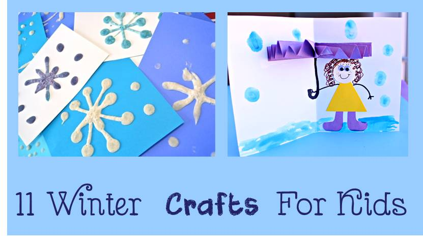 11 Winter Crafts for Kids