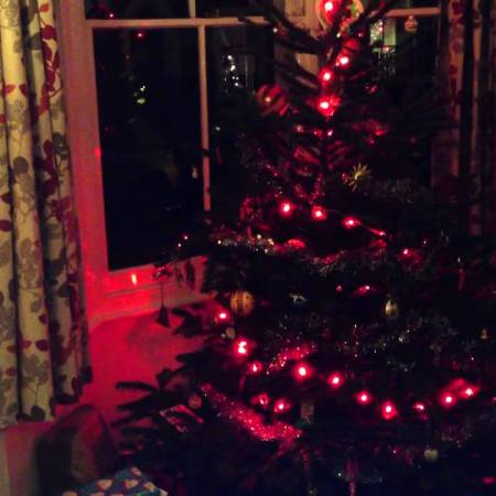 CheerLights Christmas Tree Node-RED