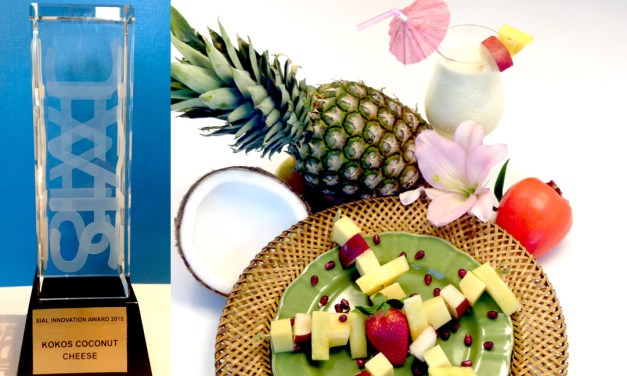 KoKos® Coconut Cheese Wins Grand Prize at SIAL