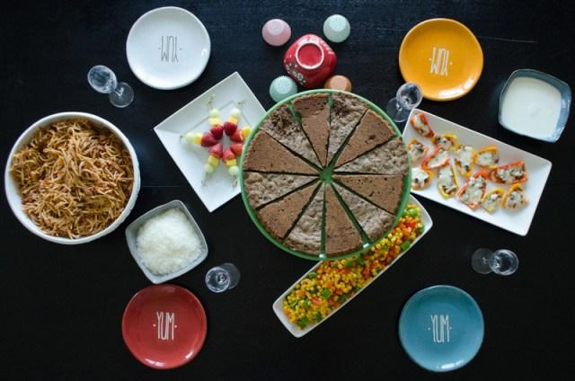 The Littles dinner menu from ChefSarahElizabeth.com