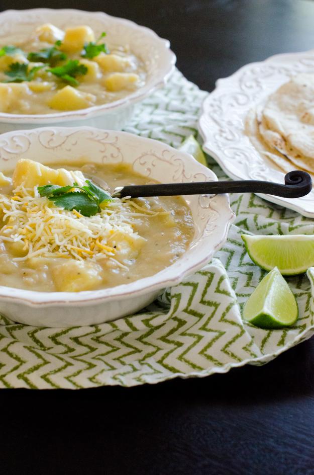 El Potato Stew recipe from ChefSarahElizabeth.com
