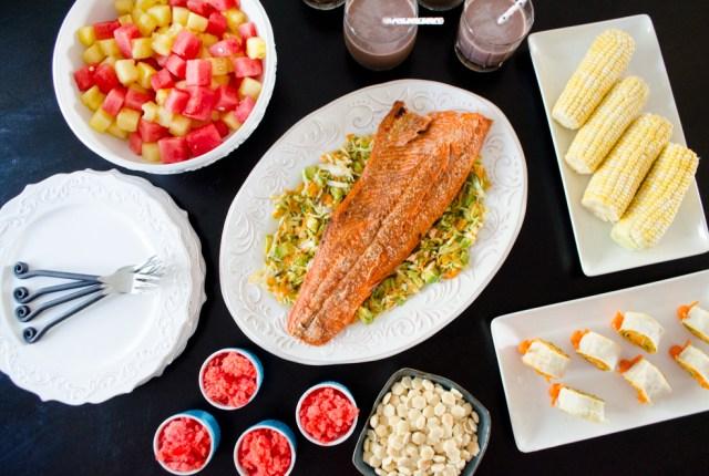 Firefly Hallow dinner menu from ChefSarahElizabeth.com