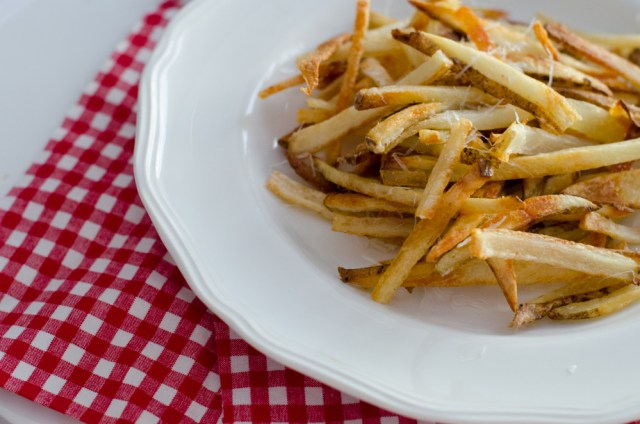 Bacon Drippin Parmesan Fries