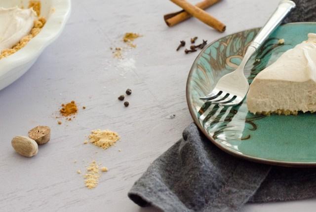 Spiced Yogurt Pie recipe from ChefSarahElizabeth.com