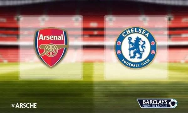 Arsenal e Chelsea vivem situações distintas na tabela (Foto: Premier League)