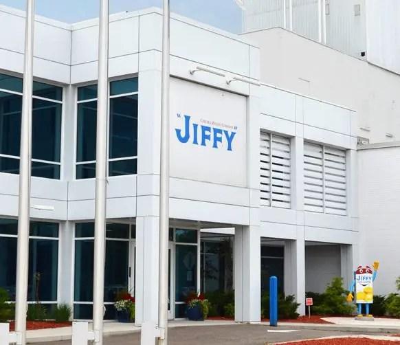 Visitor's entrance at JIFFY Mixes.