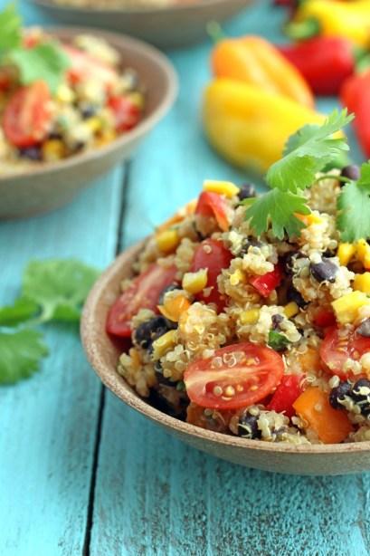 Detox Quinoa Salad