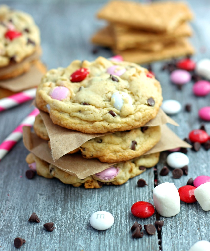 S'mores Cookies by Chelsea's Messy Apron