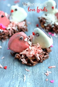 Valentine's Day Love Birds from Chelsea's Messy Apron
