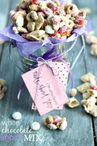 White Chocolate Snack Mix