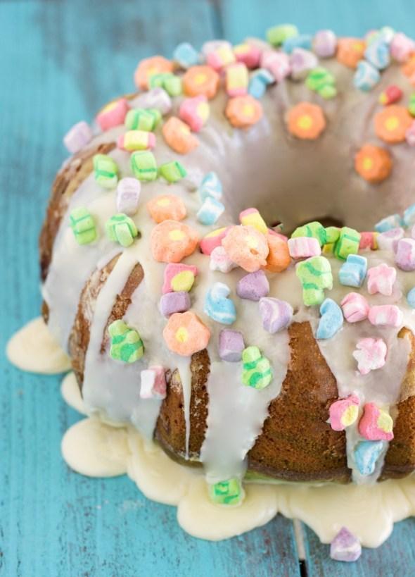 St Patrick's Day Bundt Cake