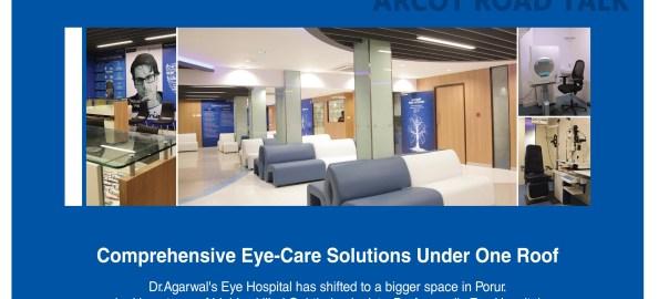 Agarwals eye Hospitals Porur - Arcot Road Talk