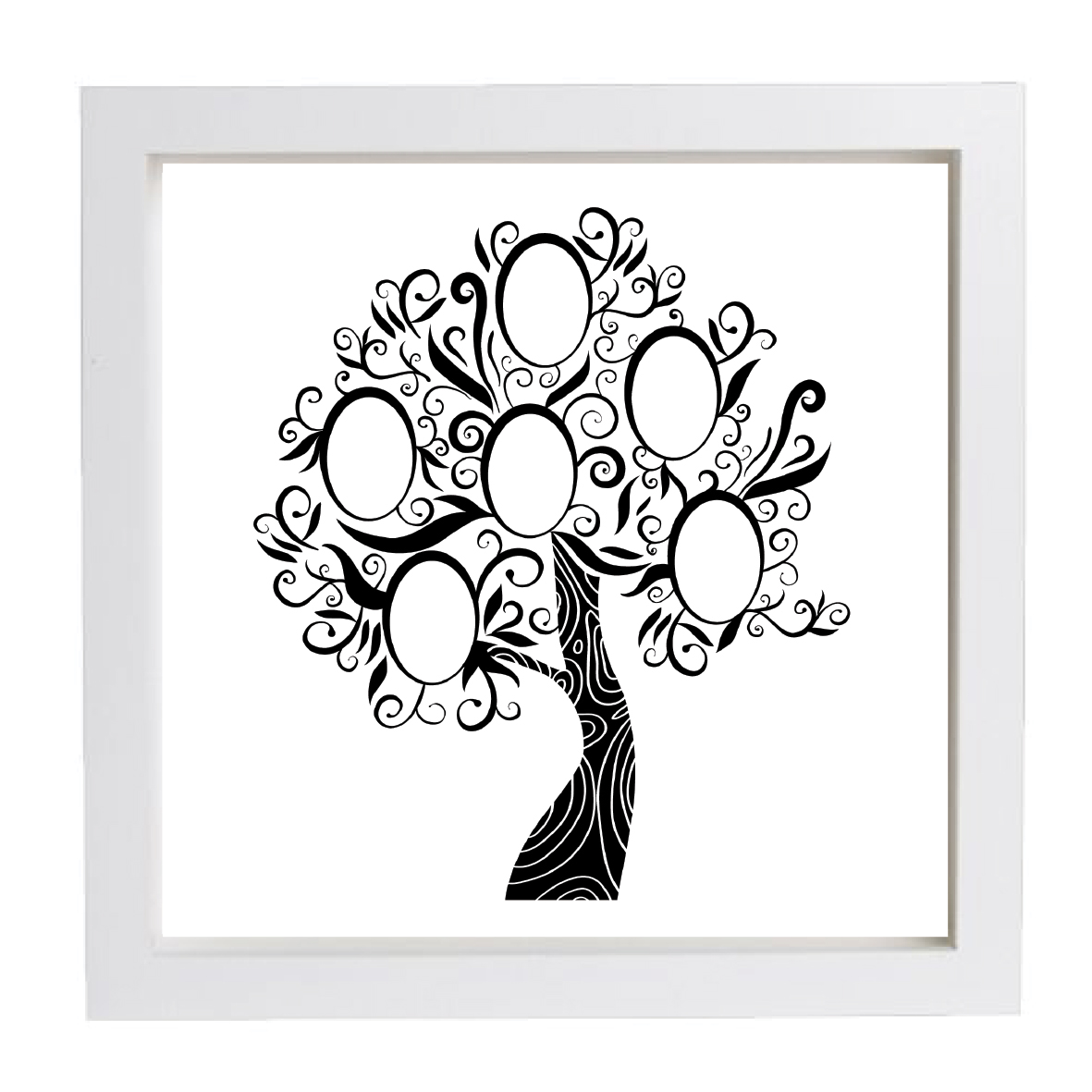 Fullsize Of Family Tree Picture Frame