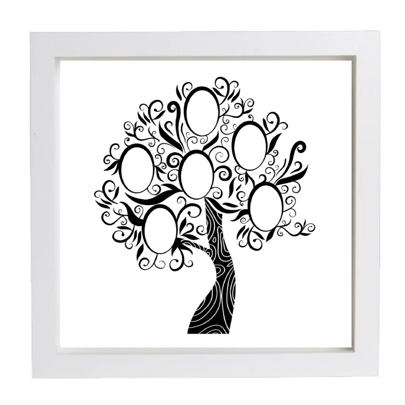 Fantastic Family Tree Prints Personalised Framed Family Tree Frame Family Tree Prints Family Tree Frame Template Family Tree Frames Wall Hanging