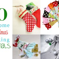 10 Christmas Stocking Tutorials