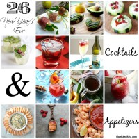 26 New Year's Eve Cocktails & Appetizers