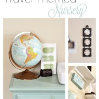 Vintage Travel Themed Nursery Reveal