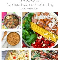 20 One Skillet Meals for Stress Free Menu Planning