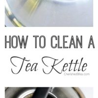 How to Clean a Tea Kettle