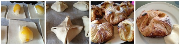 Pear and Brie Puffs