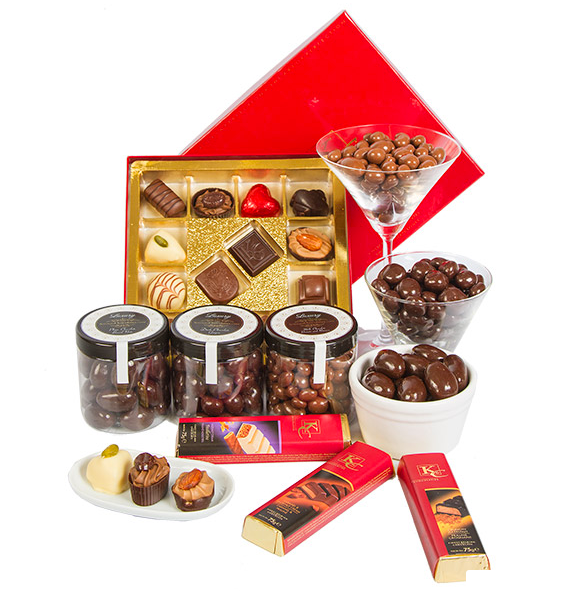 Chocolate Lovers Gift Box from Serenata Hampers