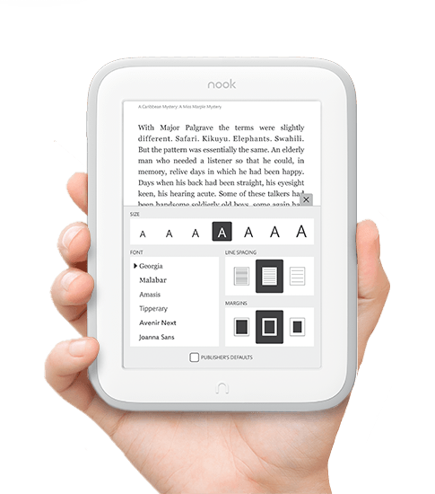 Win a Nook Simple Touch Glowlight
