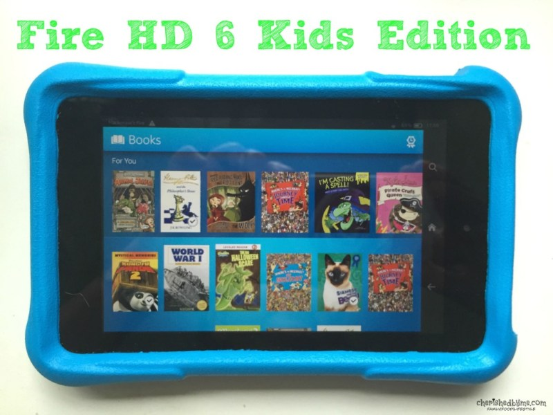 Books on Fire HD 6 Kids Edition