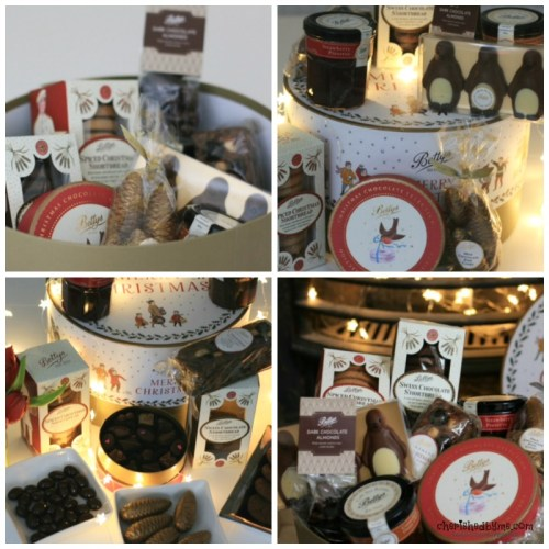 Gorgeous selection of goodies in Christmas Hampers from Bettys- Cherished By Me