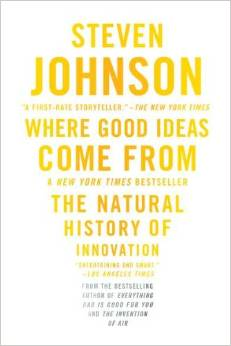 Where Good Ideas Come From by Steven Johnson