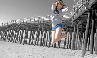 """""""Jumping for Joy"""" by  Steve Corey is licensed under CC BY-ND 2.0"""