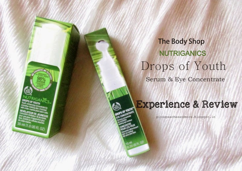 The Body Shop Nutriganics Drops of Youth Duo| Review