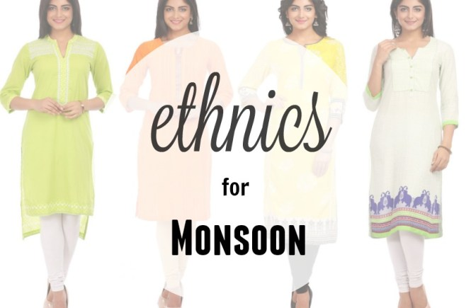 Ethnic Workwear for Monsoon| cherryontopblog.com