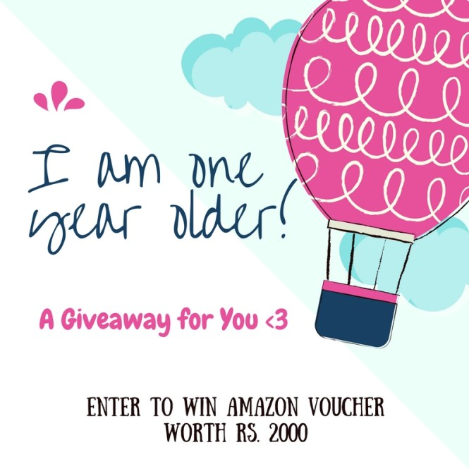 Another Year Older+ Giveaway For You