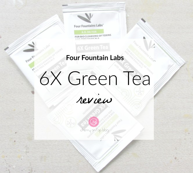 Four Fountains Labs 6X Green Tea Review