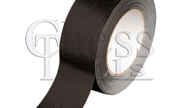 CT-190 Handwerkerband, 50 m x 50 mm, schwarz