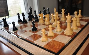 Jaques Broadbent Chessmen, Small Club Size